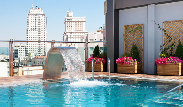 Mejores Piscinas Madrid verano hotel